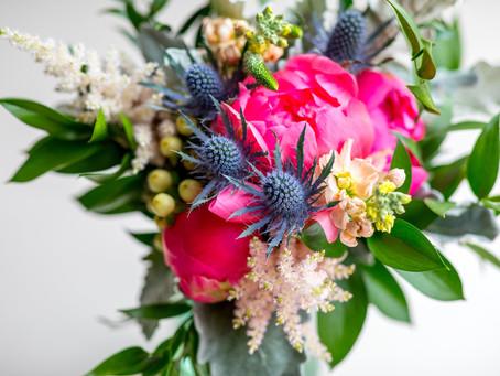 Floral Arrangements at Boars Head Inn