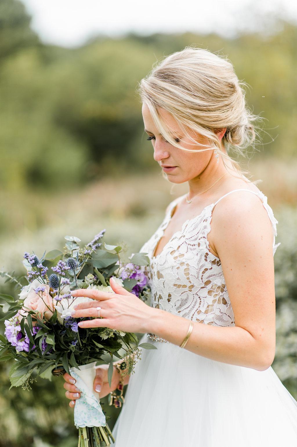 Faded Poppy Wedding Bouquet (10)