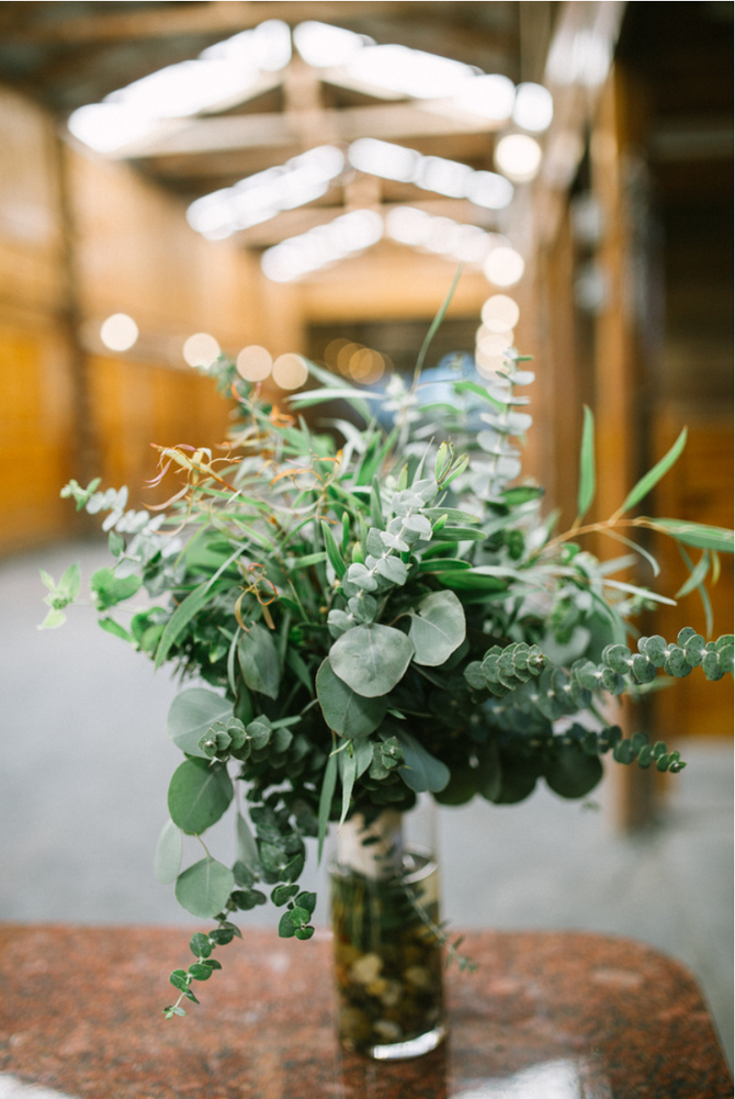 Floral Arrangements at Hermitage Hill Farm