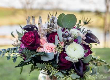 Floral Arrangements at Four Winds at North Mountain