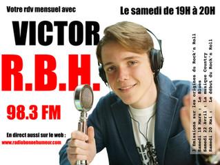 2eme émission de Victor sur RBH