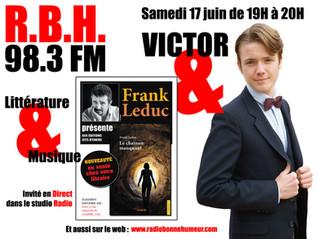 Victor reçoit Frank Leduc