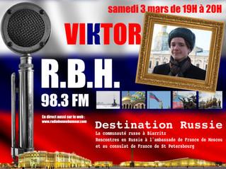 Viktor sur RBH ... Da !