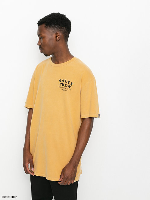 INLETS/S OVERDYED TEE - Gold