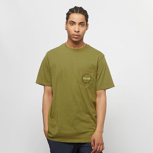 DITHER S/S TEE OLM