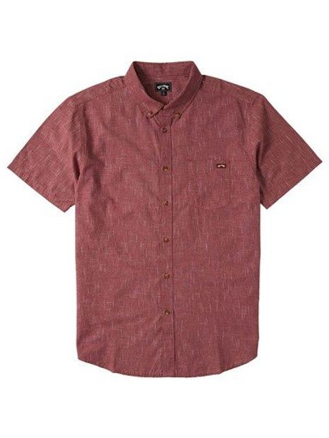ALL DAY SS - Oxblood