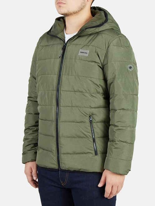 CASACO DC MENS TURNER PUFFERFATIGUE GREEN