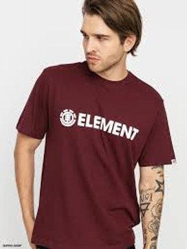 T-SHIRT ELEMENT BLAZIN SS VINTAGE RED