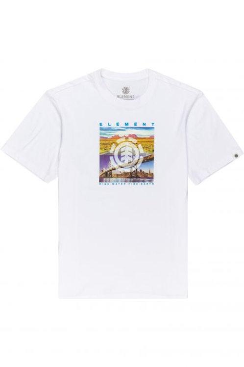PEORIA SS - Optic White