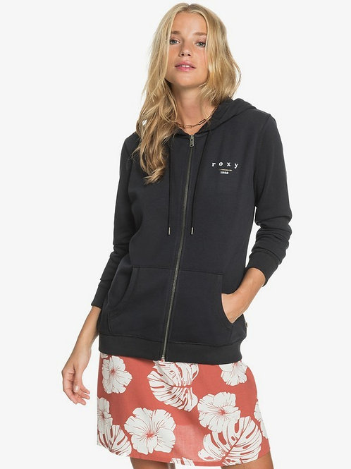 DAY BREAKS ZIPPED TERRY - Anthracite