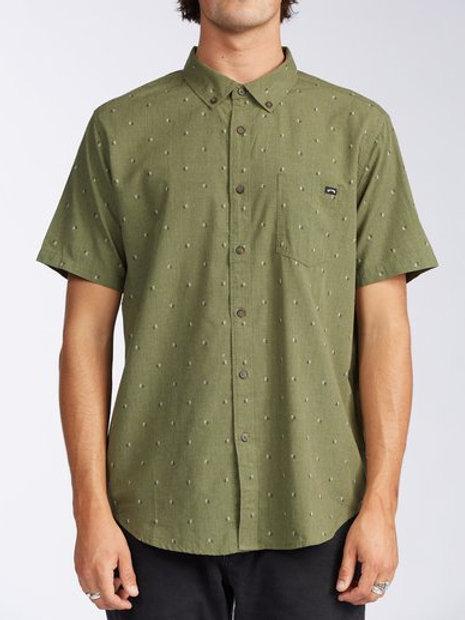 ALL DAY JACQUARD - Military