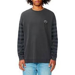 CARRIER CREW WASHED BLACK