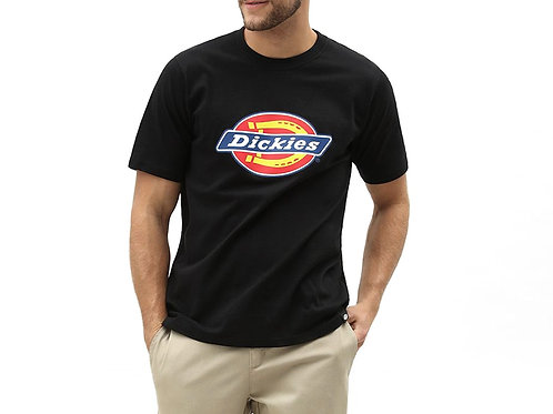 T SHIRT DICKIES HORSESHOE BLACK