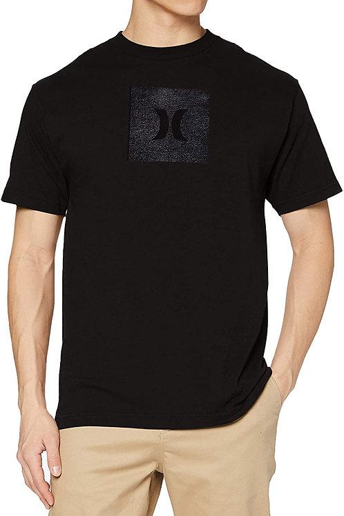 M CORE ICON BOX TEXTURE S/S BLACK