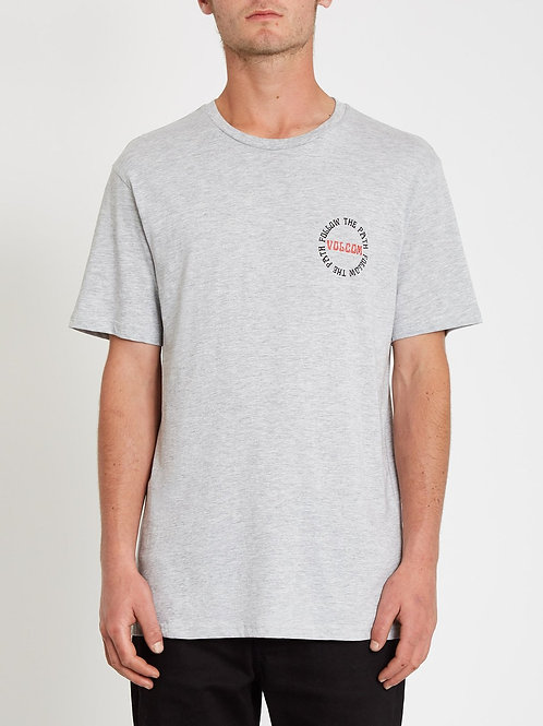 DITHER BSC SS - Heather Grey
