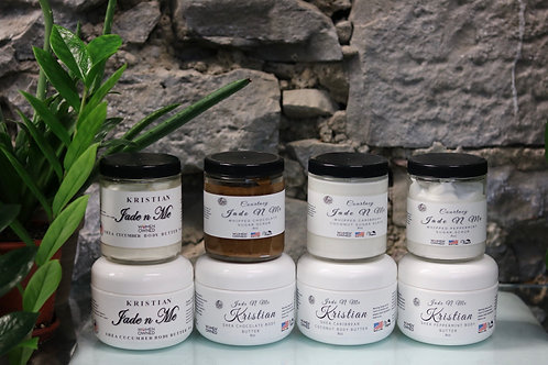 Whipped Sugar Scrubs and Body Butters