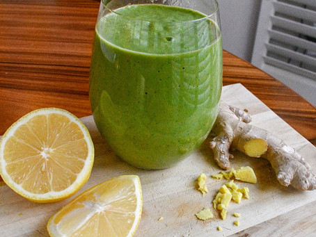 Green Ginger Smoothie 💚