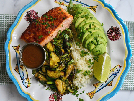 Salmon Avocado Bowl