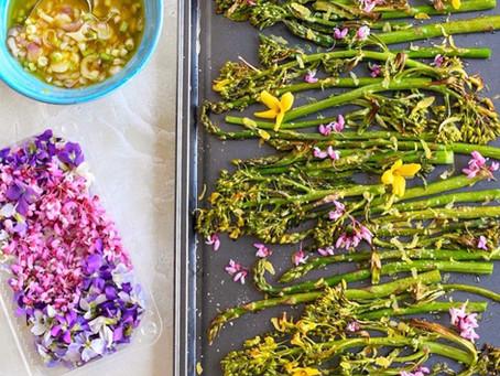 Springtime Asparagus and Rapini