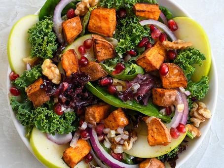 The Balanced Apron Autumnal Salad