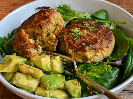 Spinach Risotto Cakes