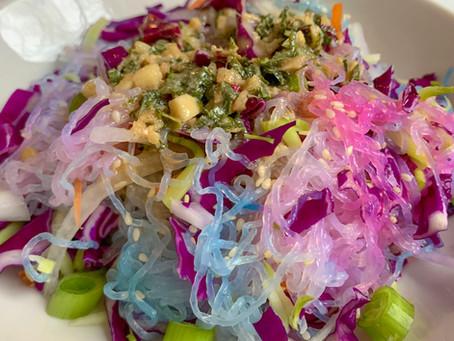 Sesame Miracle Noodle Salad