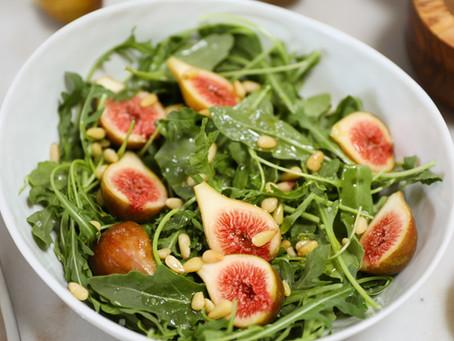 Fig & Pine Nut Salad