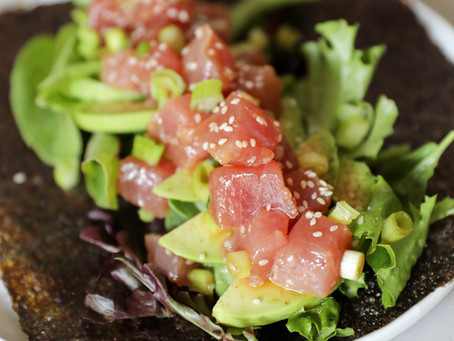 Tuna Avocado Wraps