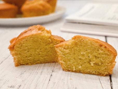 Olive Oil Cake Muffins