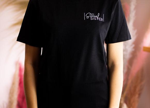 Black Organic Oversized T-Shirt