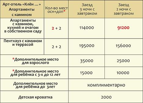 цены КАНИКУЛЫ 18-19 клен апарт.png