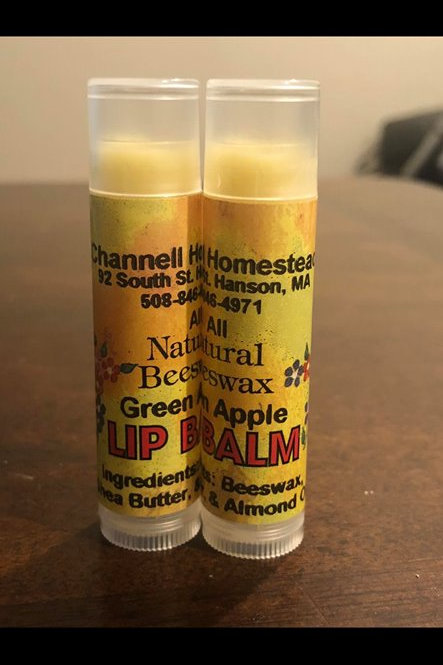 Green Apple Beeswax Lip Balm