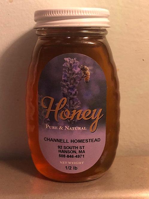 1/2 lb Raw Local Honey