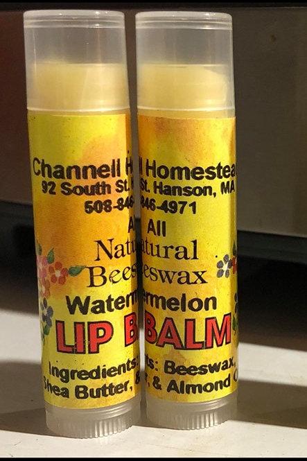 Watermelon Beeswax Lip Balm