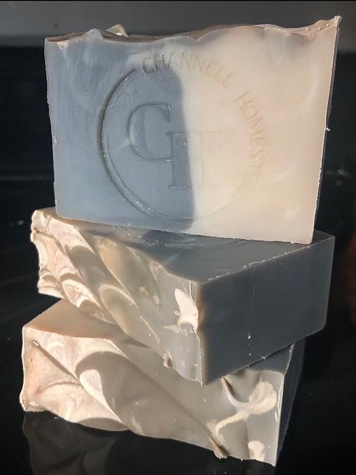 Black Amber & Lavender Charcoal Soap