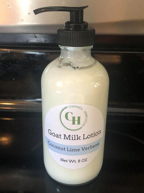 Coconut Lime Verbena Goat Milk Lotion 8oz