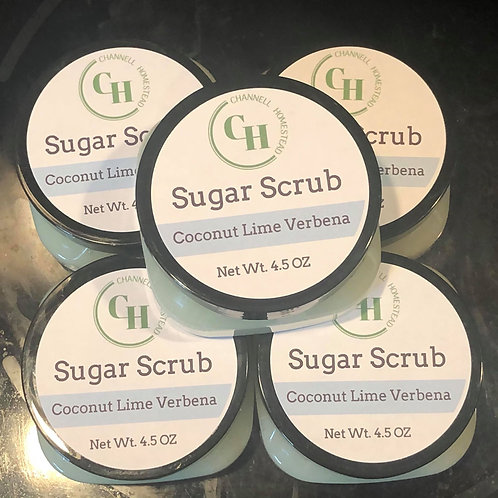 Coconut Lime Verbena Sugar Scrub