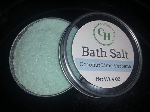 Coconut Lime Verbena Bath Salt