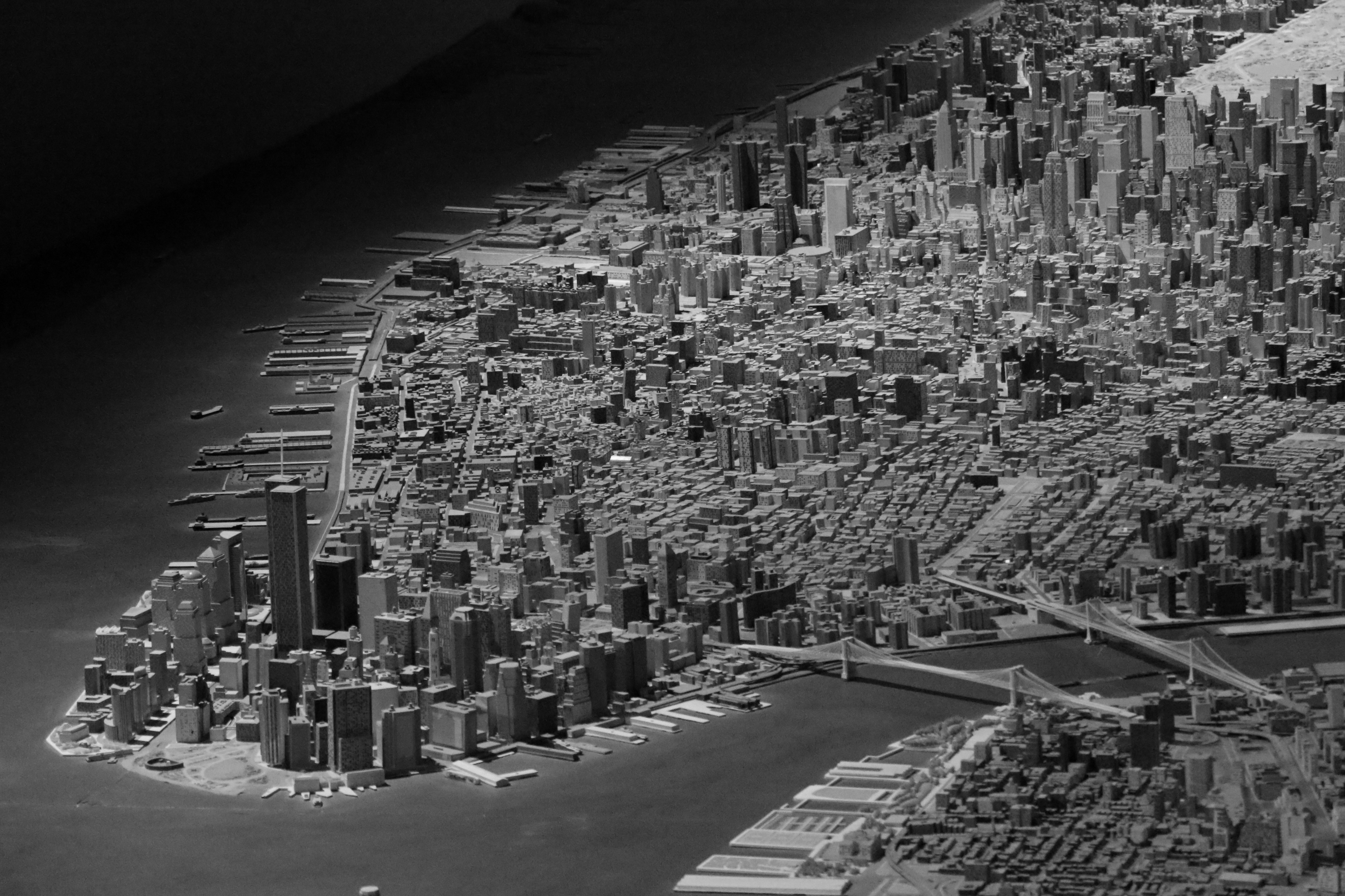 Panorama of NYC - Queens Museum