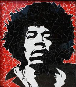 jimi Hendrix Cm65x65Cm