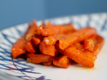 Zahtar Spiced Carrots drizzled with Honey