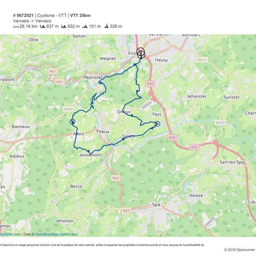 VTT 25 km-1