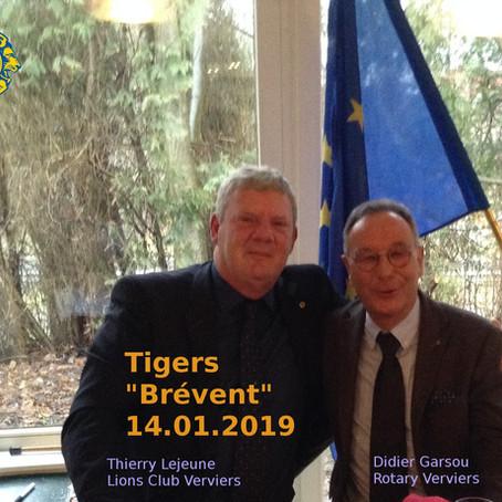 """Tigers au """"Brévent"""""""