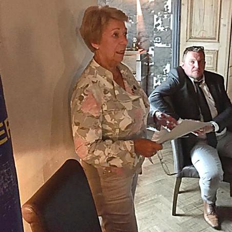 Visite Gouverneur 112 D + Award 10 ans Denis Ernotte