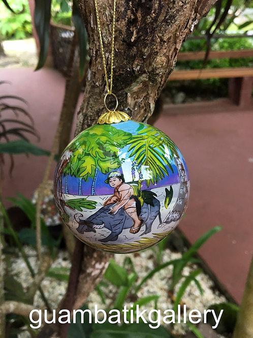 Limited Ed. LANCHERO ON KARABAO Ornament