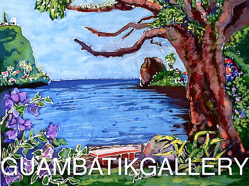 Print: Umatac Bay View (8X10)