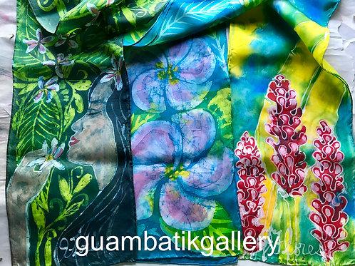 Judy Flores, Original/OOAK Batik Scarf