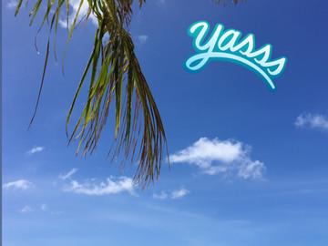 Blue Sky and Seashore