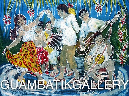 Print: Pala Pala Band II