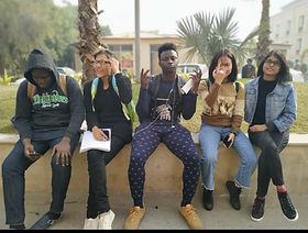 Edoofians enjoying campus life